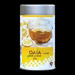 Gaia Leaf Green Tea Caddy Lemon Front
