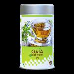 Gaia Green Tea Leaf Caddy Front