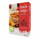 Gaia Crunchy Muesli Real Fruit 400g