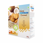 Gaia Lite Sugarfree Coconut Cookies 200g