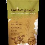 Gaia Organic Whole Green Cardamom