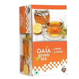 Gaia Green Tea + Lemon & Honey