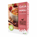 Gaia Crunchy Muesli Strawberry 1kg